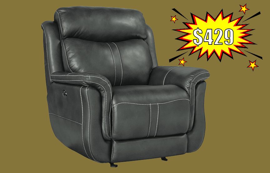 Standard Ashton Grey Recliner