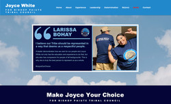 Joyce White for Bishop Paiute Tribal Council Website