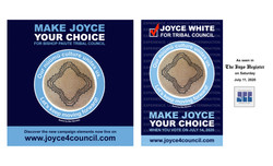 Joyce White for Bishop Paiute Tribal Council Campaign Assets - Phase 2