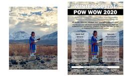 Bishop Paiute Tribe's Winter Social Pow Wow Announcement