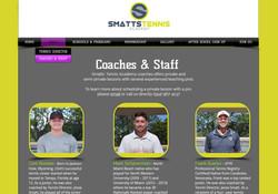 Smatts tennis diseño web