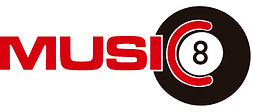 Music 8 logo
