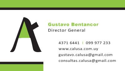 tarjeta  Calusa Construcciones