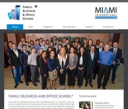 Miami School web