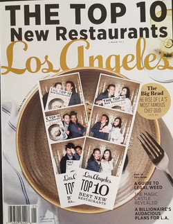 photo booth pics & LA Magazine