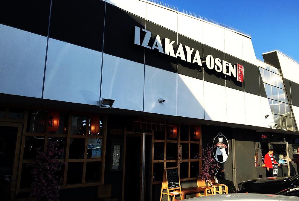 Enter the izakaya!