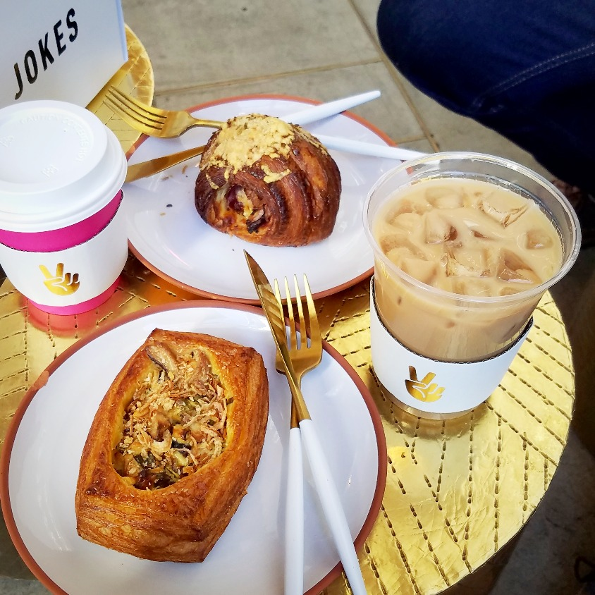 Savory pastry brunch