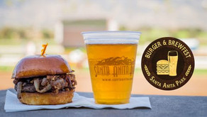 Giddy Up!  Santa Anita Park's Burger and Brewfest Event Returns This Weekend