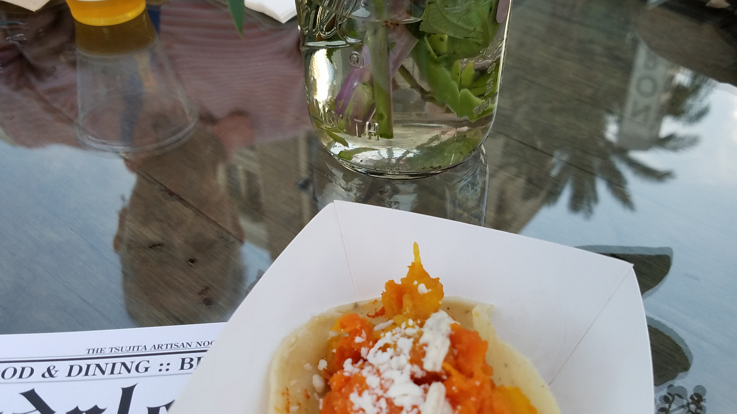 Roasted Pumpkin Taco