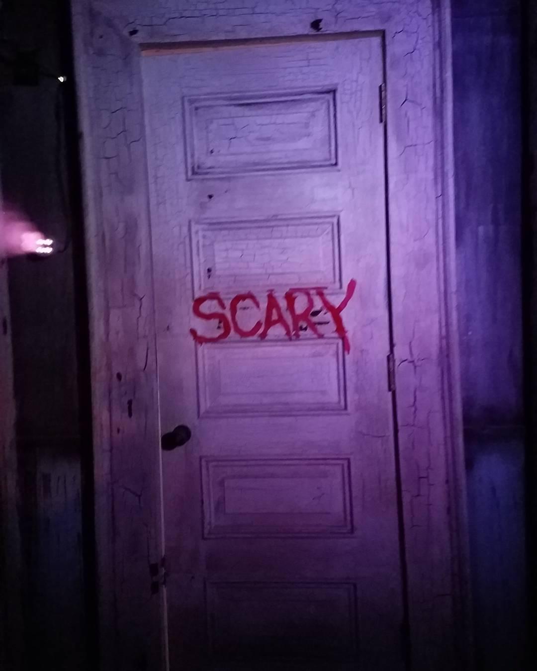 Scary door. What's behind?