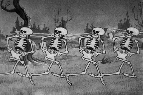 Disney image The skeleton Dance