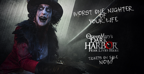 The Queen Mary's Dark Harbor Returns to the Infamously Haunted Ship September 27
