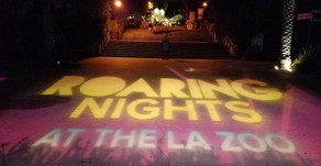 "All New Glamping Lounge At This Year's ""Roaring Nights"" at the LA Zoo"