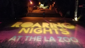 """All New Glamping Lounge At This Year's """"Roaring Nights"""" at the LA Zoo"""