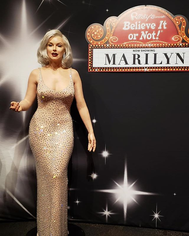 Marilyn Monroe exhibit