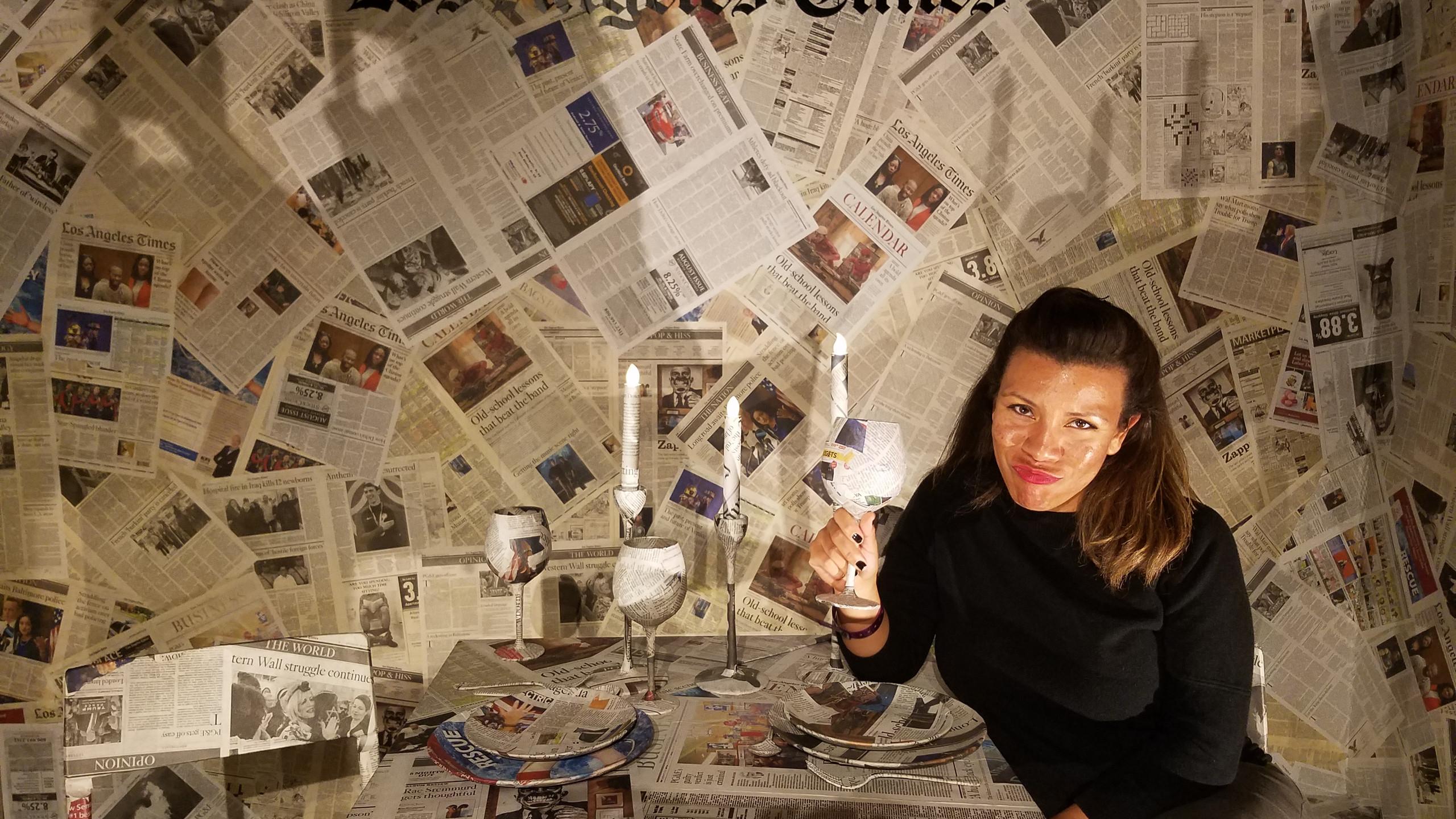 LA Times Photo Opp