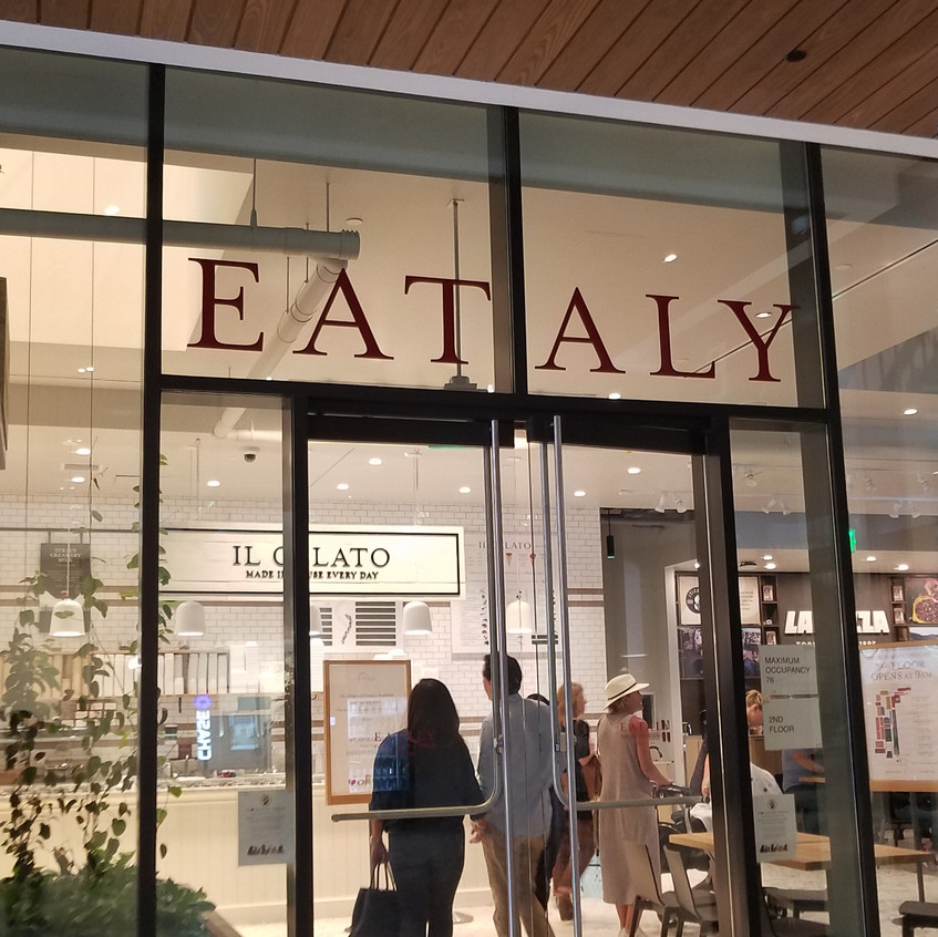 side Eataly entrance/exit