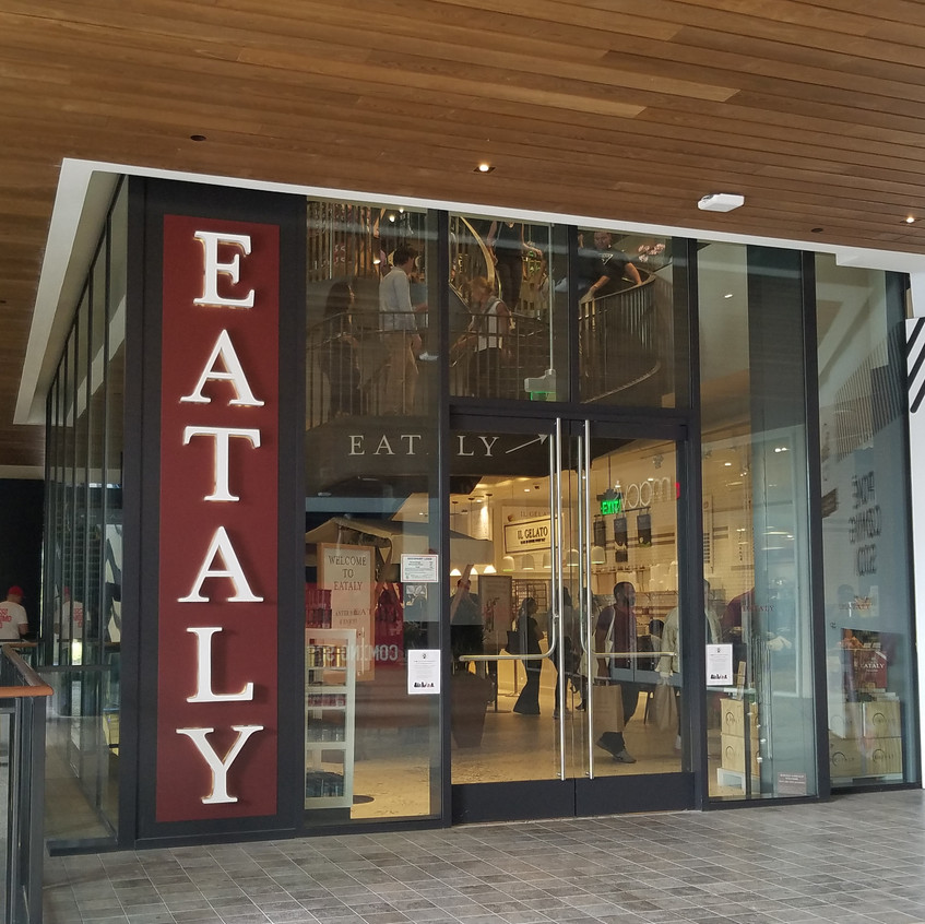 Entrance to Eataly