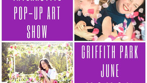 """Interactive Art Pop-up """"BLOOM"""" Sprouts Up  this June at Griffith Park"""