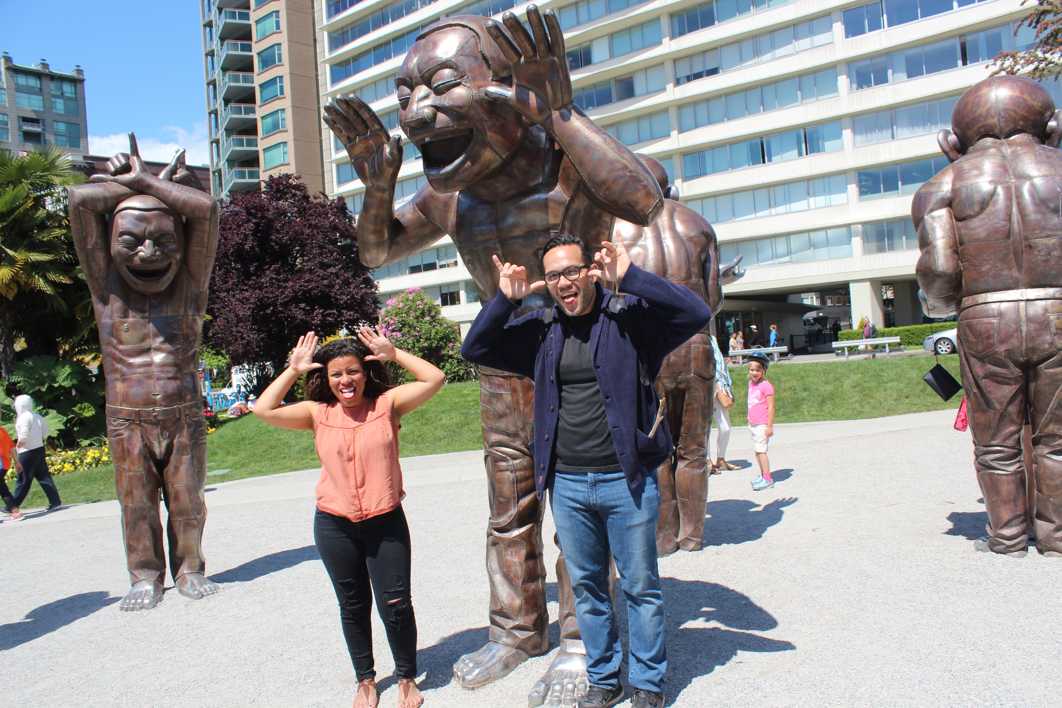Amazing Laughter Statues