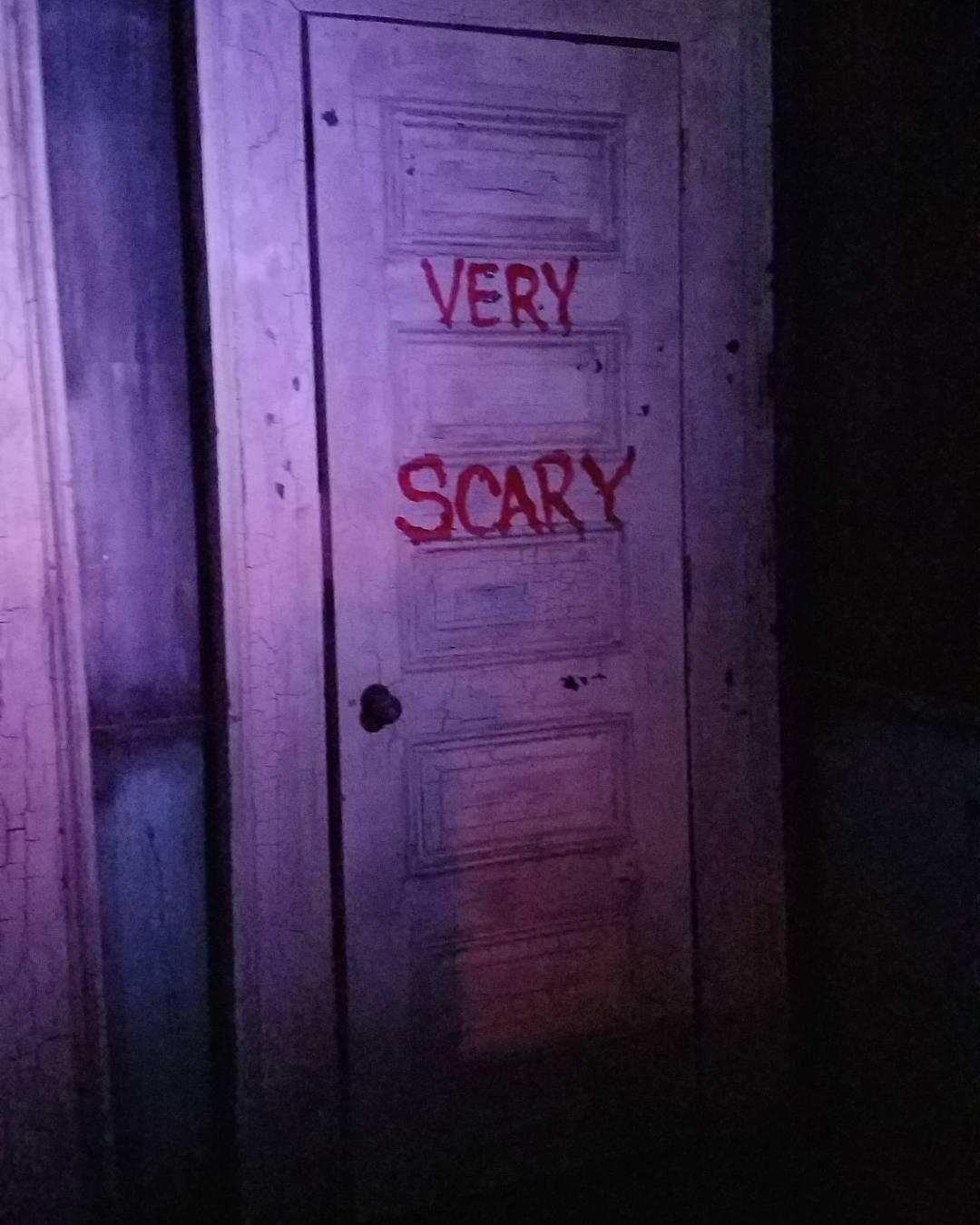 Very Scary Door.  Let's go inside!