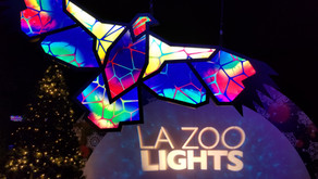 The Lights are up at the LA Zoo