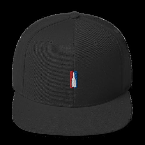 Koncept Snapback Hat Champagne Bottle Logo
