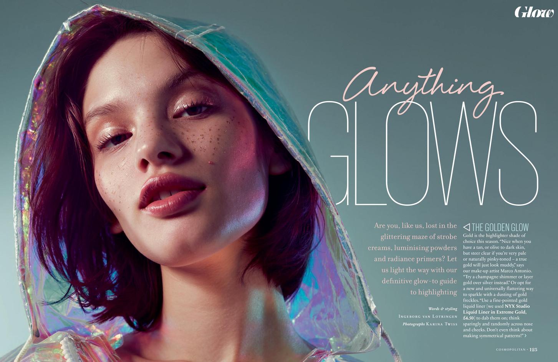 Anything Glows – Cosmopolitan