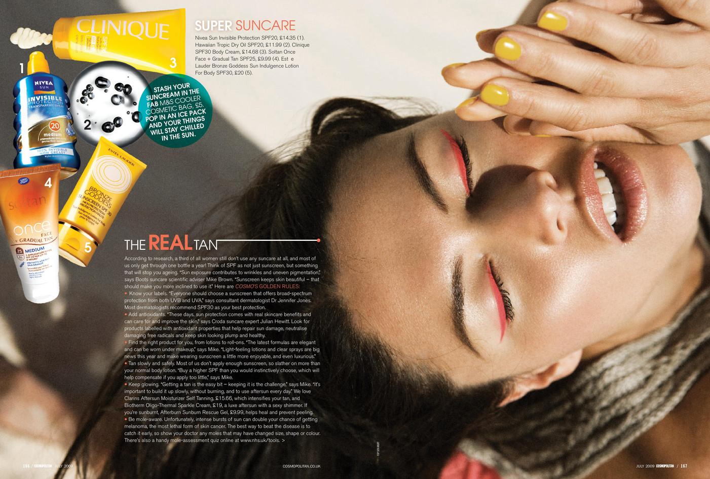 Talk to the tan – Cosmopolitan