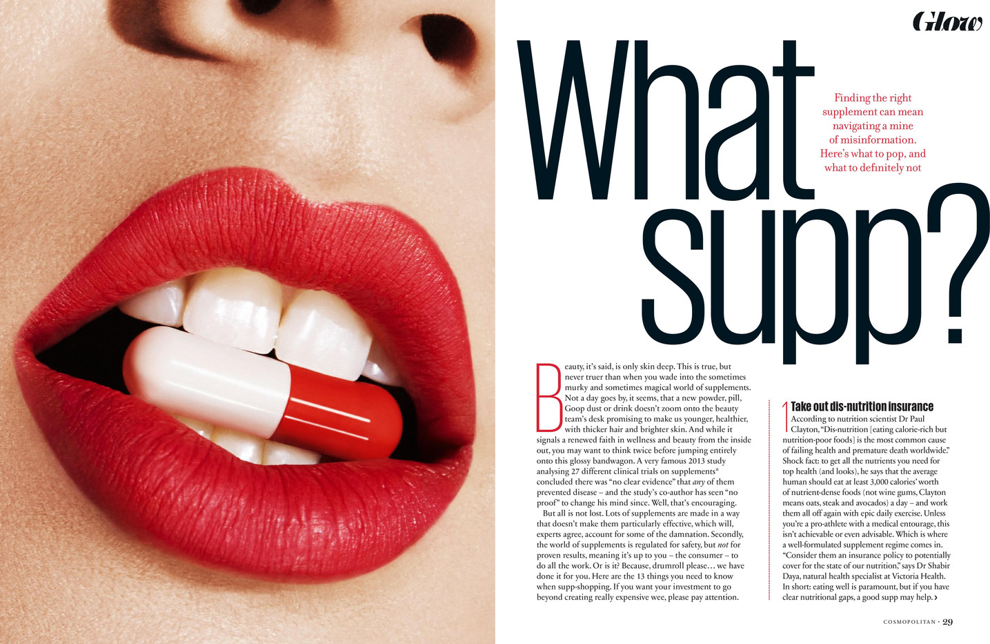 What Supp? – Cosmopolitan