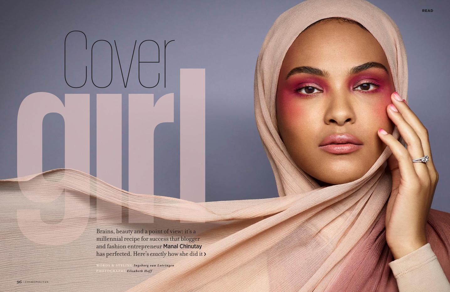 Cover girl – Cosmopolitan