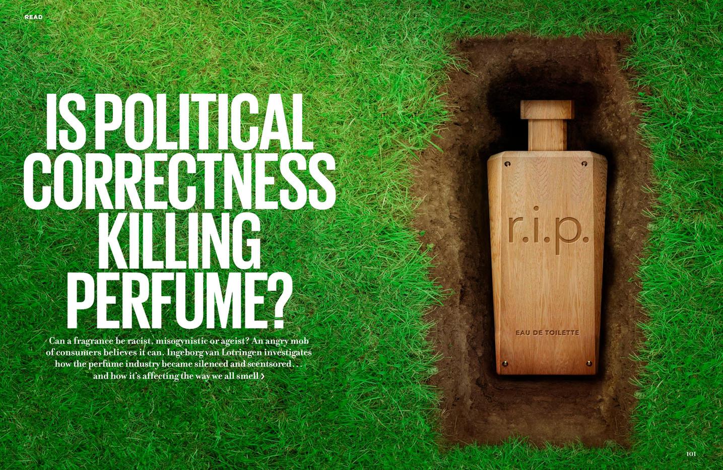 Is political correctness killing perfume? – Cosmopolitan