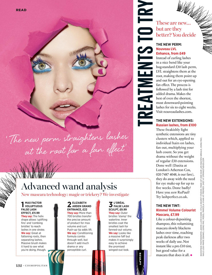 The lash word – Cosmopolitan