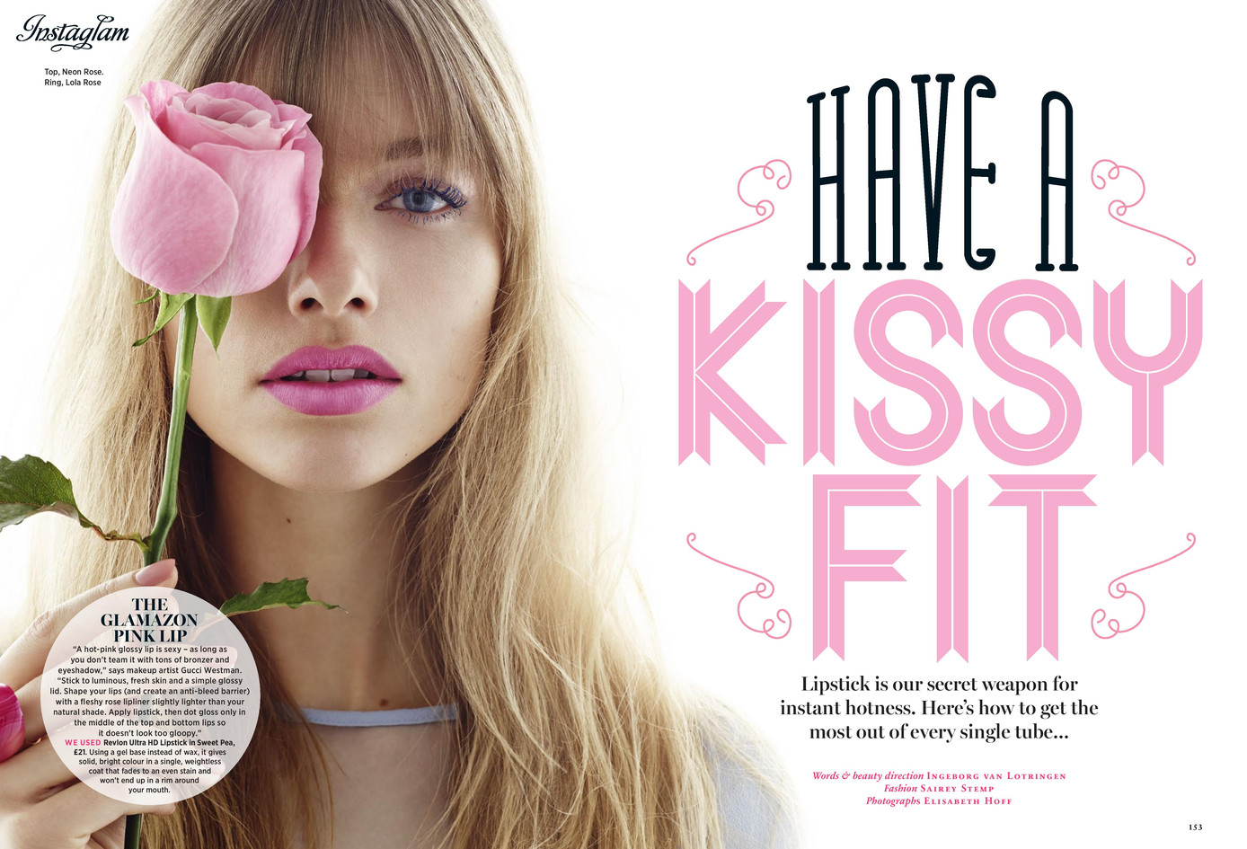 Have a kissy fit – Cosmopolitan