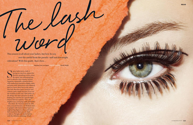 The lash word – Cosmopolitan