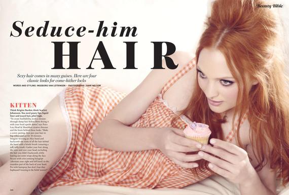 Seduce-him hair – Cosmopolitan