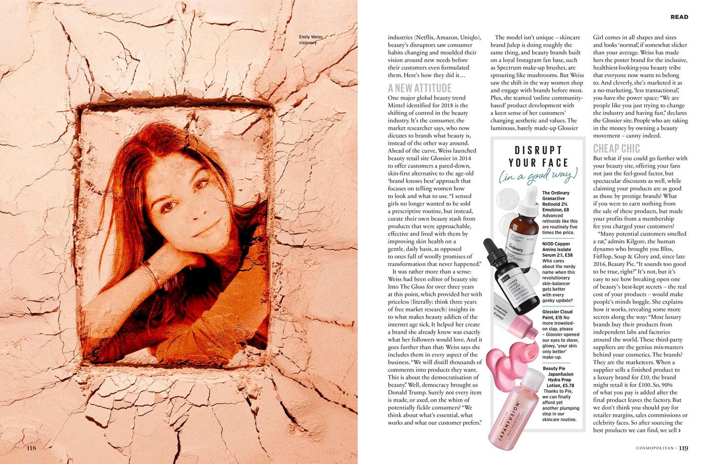 Beautyquake – Cosmopolitan