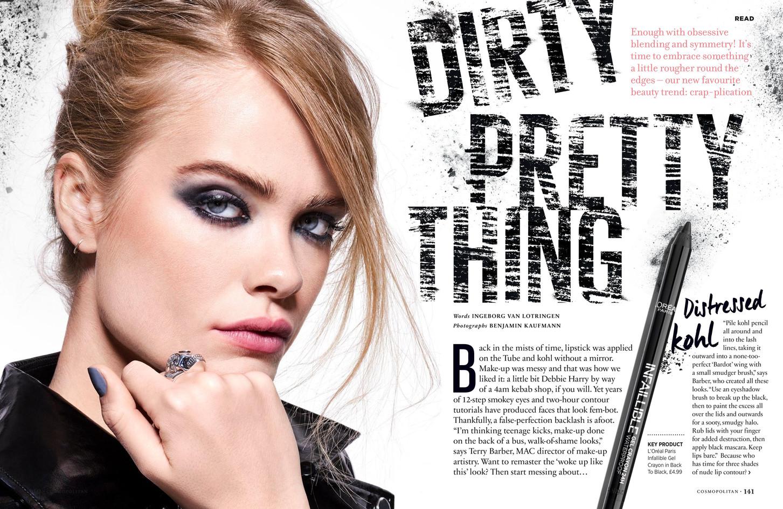 Dirty pretty thing – Cosmopolitan