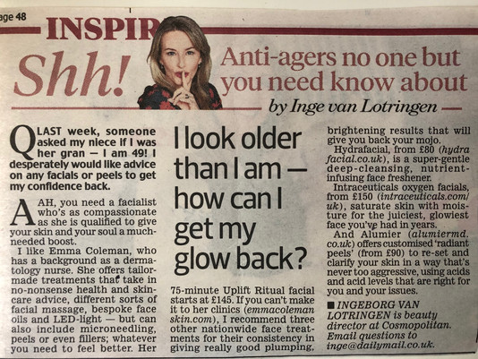 Shh! Anti-agers no one but you need know about