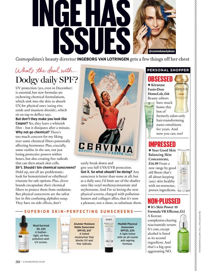 Inge has issues – Cosmopolitan