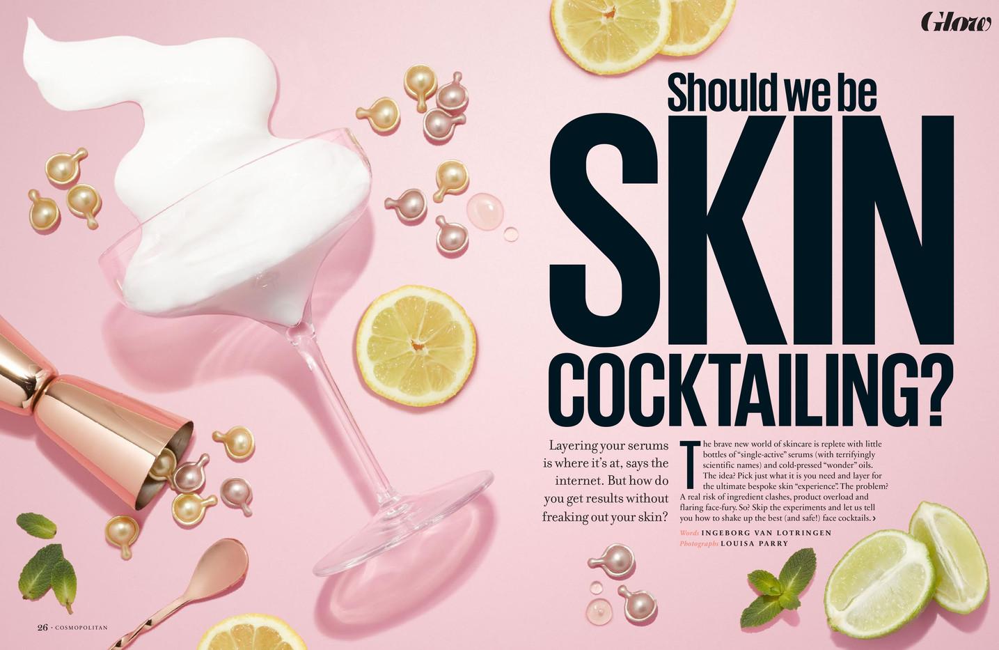 Should we be skin cocktailing? – Cosmopolitan