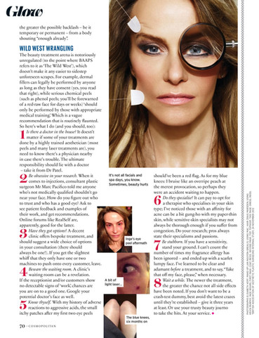 Confessions of a beauty editor – Cosmopolitan