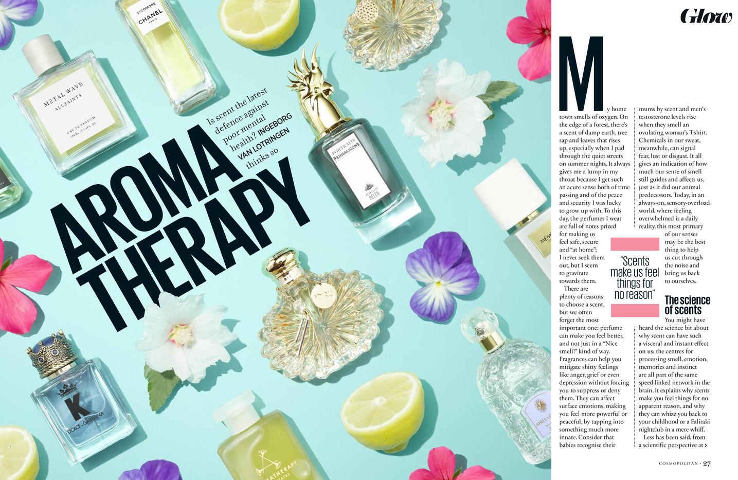 Aroma Therapy – Cosmopolitan