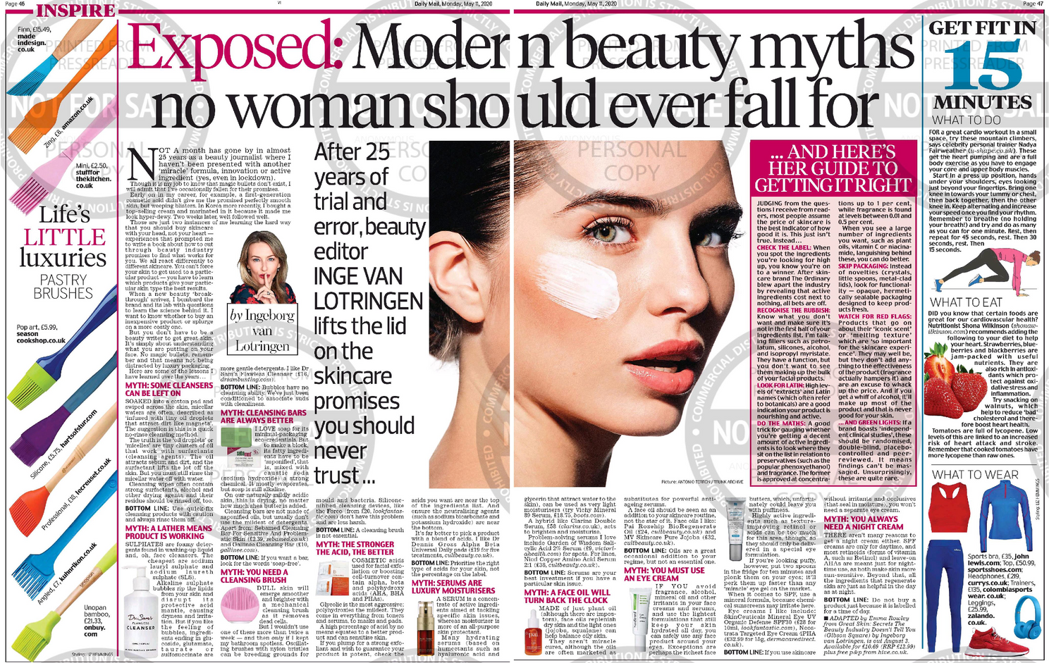 Exposed: Modern beauty myths no woman should ever fall for