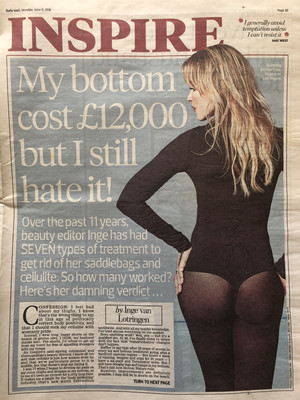 My bottom cost £12,000 but I still hate it!