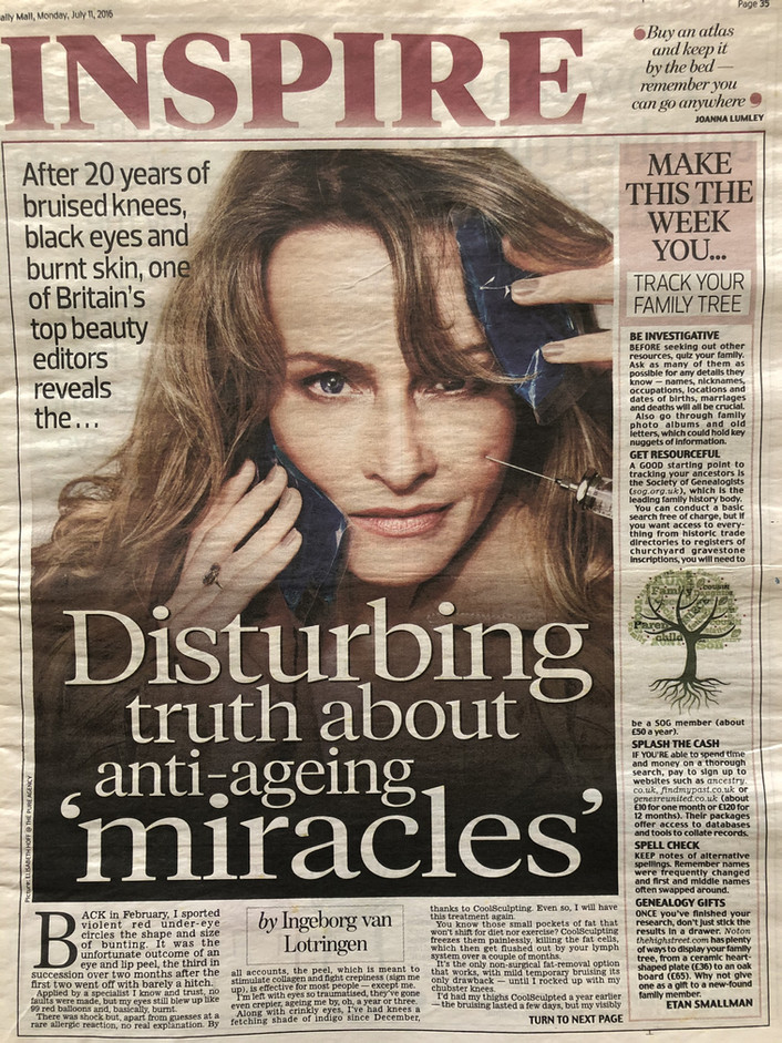 Disturbing truth about anti-ageing 'miracles'
