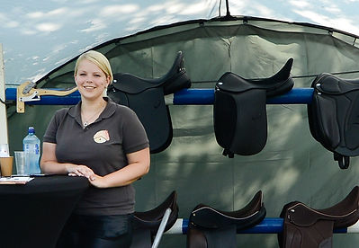 Anne van Vugt MSFC gediplomeerd zadelpasser en zadelmaker in Brabant