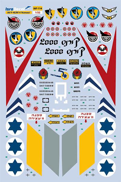 IAF F-4E 'Kurnass' 1:32 (IAF114)