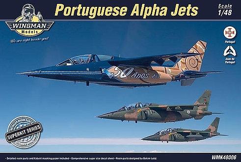 Portuguese Alpha Jets Superkit 1:48