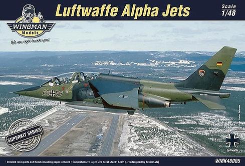 Luftwaffe Alpha Jets Superkit 1:48